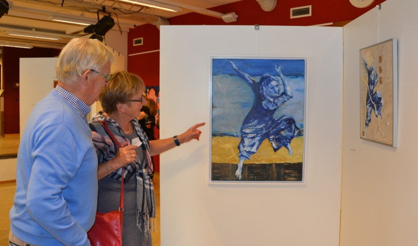 Frivool, van Hélène Verhoeven, Artring expo 2018