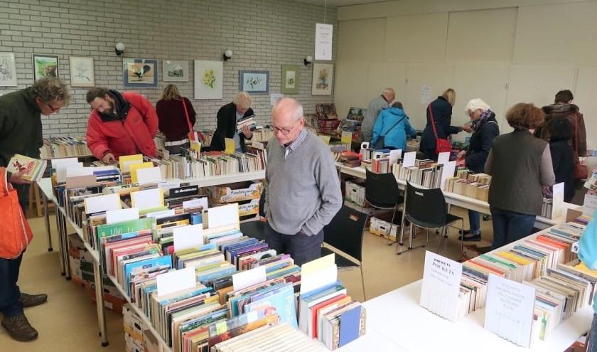 publiek op de boekenbeurs