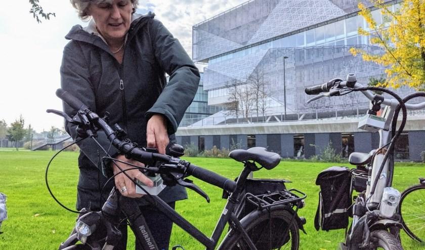 Hoe ziet Nieuwegein er in 2040 voor de fietser uit? Foto: PR