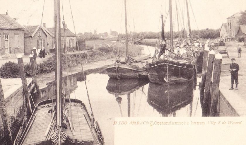 De Oostendamse haven.