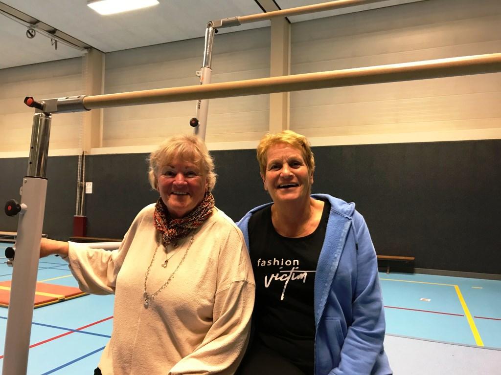 Wilna van der Aalst (links) en Trees Kok.  © DPG Media
