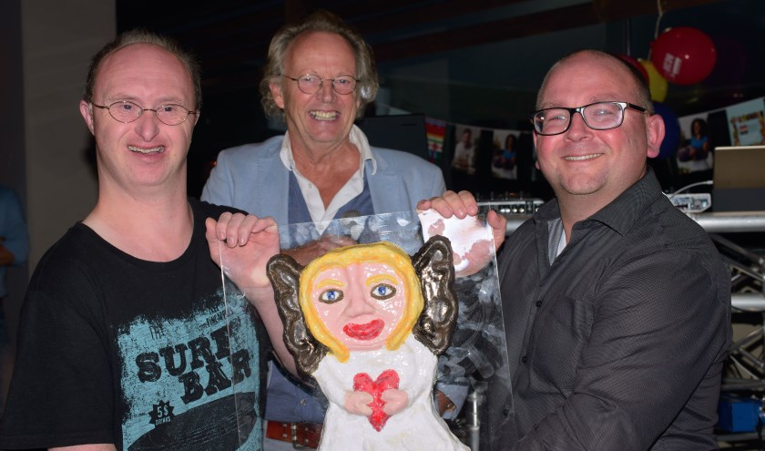 V.l.n.r.: Mark van Laar, Jan Anema en Sander Haas (foto: H. Wanschers)