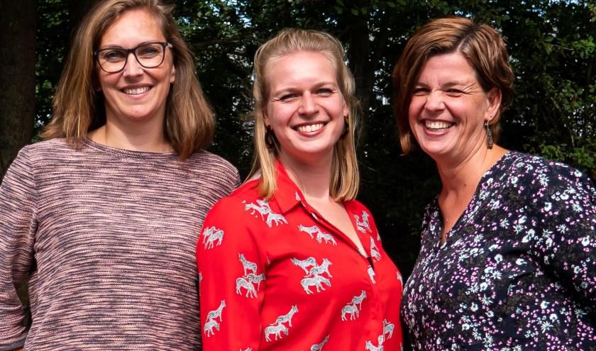 Petronella, Naomi en Elly van Voor Elkaar Zwolle.