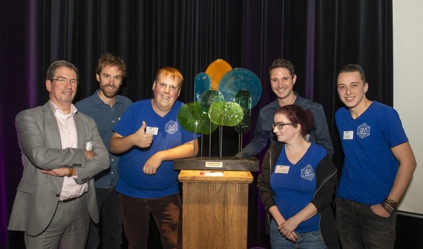 Brouwerij Vagabond ontvangt de Gouden Gift van ORO. Foto: Hein Verbakel.