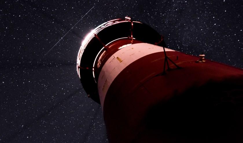 't Lage Licht met voorbij vliegende meteoriet