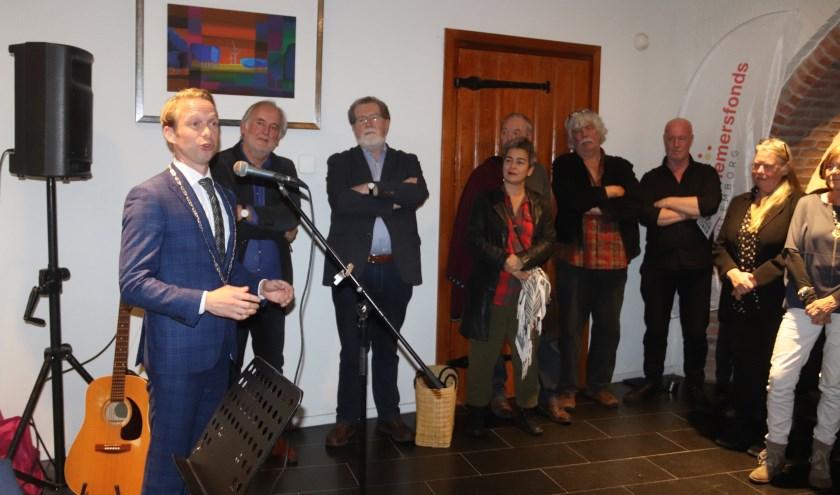 Burgemeester Gerdo van Grootheest opende de vierde kunstroute door Culemborg