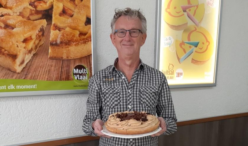 Hans van der Kroft is man achter de lekkerste vlaaien van MultiVlaai Gouda.