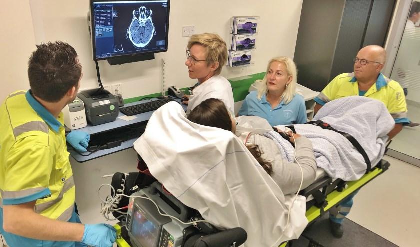 Dankzij het XDM Netwerk zitten radiologische beelden al in het ziekenhuissysteem wanneer de patiënt binnenkomt. (Foto: PR).