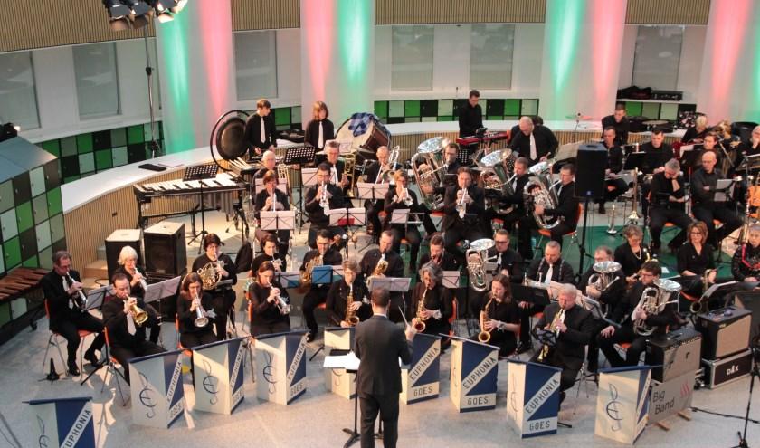 Het concert van Euphonia is op zondag 27 oktober in het Omnium aan de zwembadweg 3 in Goes. FOTO: PR
