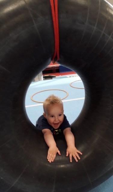 Kinderen kunnen samen met een ouder bewegen, spelen en ontmoeten. Foto: PR