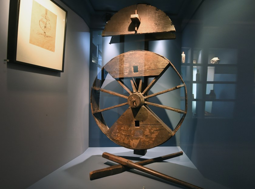 Het wiel van Michiel de Ruyter.