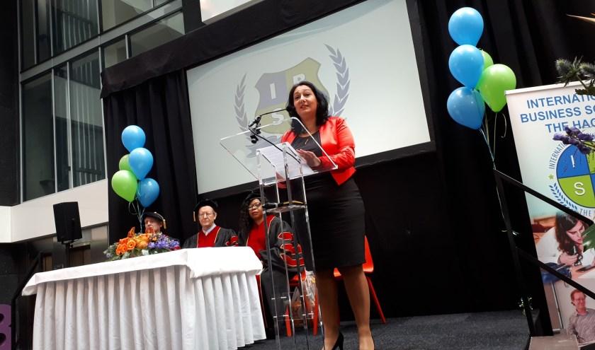 """Wethouder Johanna Besteman CDA: """"De komst van IBSH is ook van veel waarde voor het vestigingsklimaat van Rijswijk."""""""