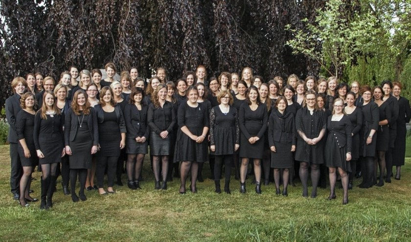 The Young Ladies Choir. (eigen foto)