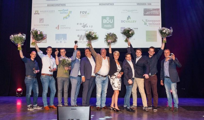 De uitreiking van de awards vorig jaar. (Foto: Annemarie Bakker)