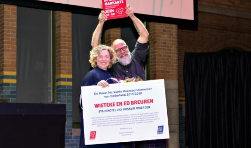 Wieteke en Ed Breuren van Stadshotel Van Rossum Woerden.