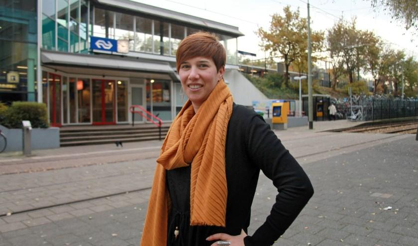 Toen Eszter hier net woonde bekeek ze alles met een roze bril (Foto: Peter van Zetten).