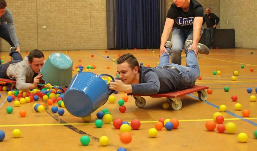 Een conditioneel zware beproeving stond de deelnemers te wachten bij het Hungry Hippo-spel inDe Meent.