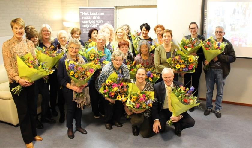 In totaal werden er deze editie binnen KWF Eindhoven 34 jubilarissen gehuldigd. Zij vierden jubilea van 12,5 tot wel 40 jaar. Bij elkaar opgeteld vervulden zij liefst 595 dienstjaren.