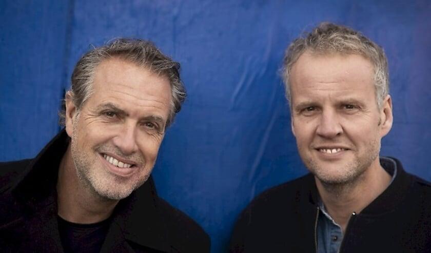 <p>Veldhuis en Kemper (Foto: Bob Bronshoff)</p>