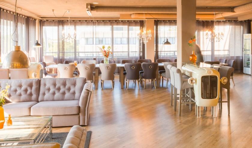 Lounge bij Hofclub Werken & Vergaderen