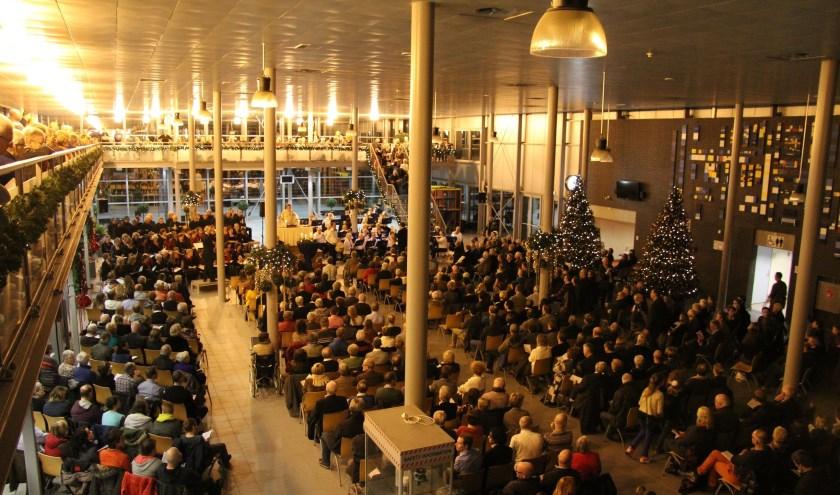 Kerstavond is er weer een kerstviering op Vliegbasis Eindhoven.