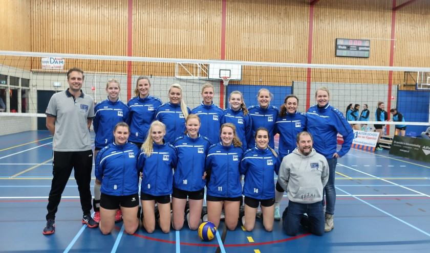 Teamfoto VTC Woerden Dames 1