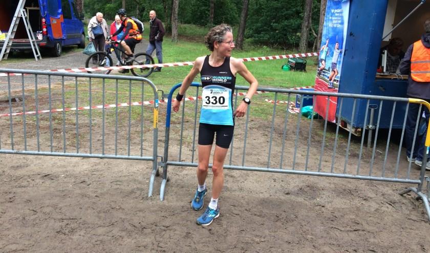 Mireille Baart (op archieffoto) won de 49e editie van de Bennekomse Bosloop. Ze kwam uit op de 8 kilometer.