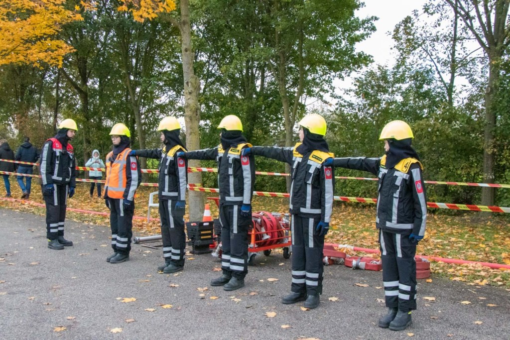 De junioren in actie Foto: Jurgen Versteeg © DPG Media