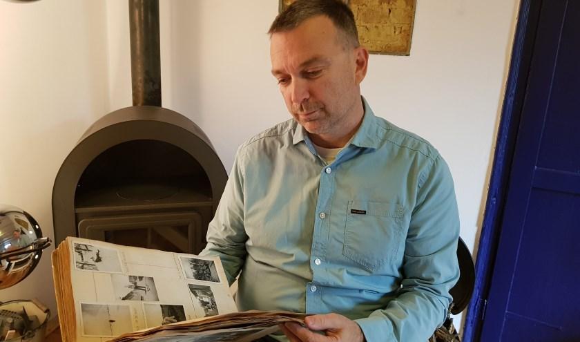 Huibert leest in originele dagboek