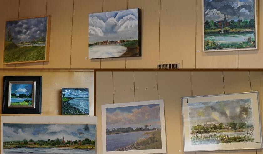 <p>Deze IJsselwerken zijn te bekijken in de entreehal van het museum.&nbsp;</p>
