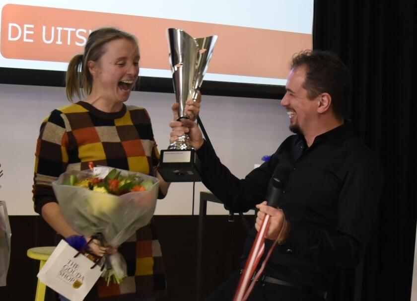 <p>Marjolein Pieks uit Heumen mag haar titel dit jaar verdedigen. Foto: Marianka Peters</p>