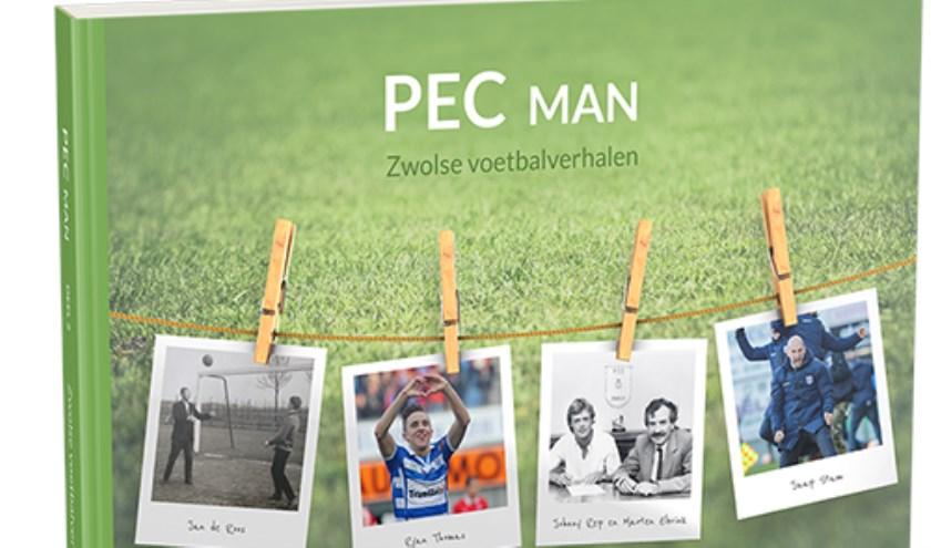 De cover 'PEC Man, Zwolse voetbalverhalen'.