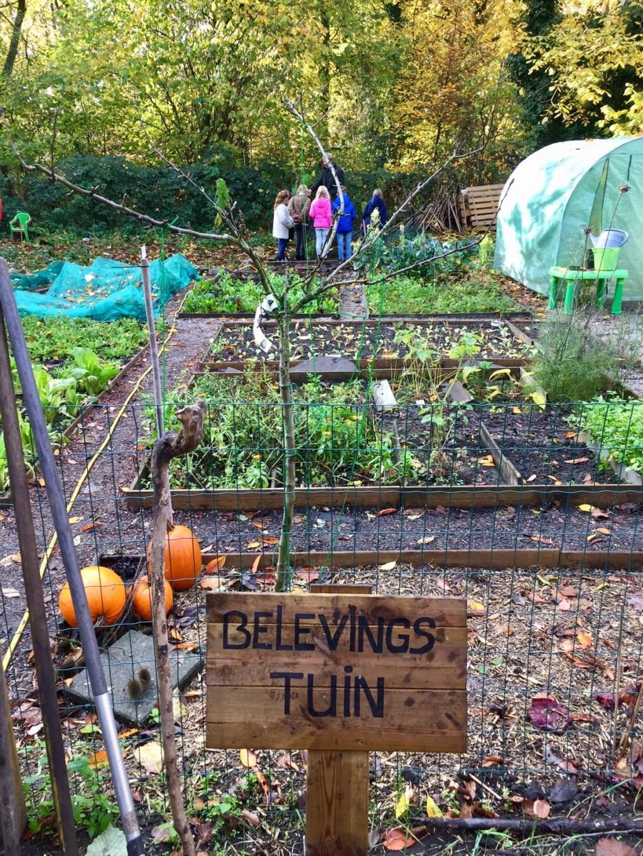 Winnaar Groenste idee 2018 - Erwin Welberg - Belevingstuin. Foto: Groener Hengelo