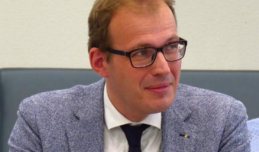 Burgemeester Mark Boumans van Doetinchem. (foto: Bert Vinkenborg)