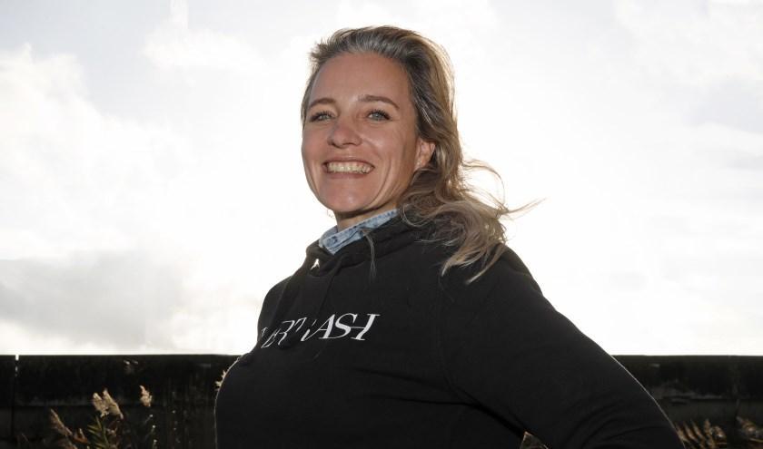 Kaja van Elte voorzitter van de club waar ze opgroeide.