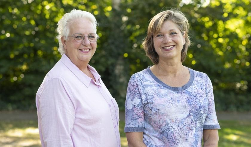 Anja van der Riet en Els Beelen breiden met ZorgeloosThuis ook uit in Veldhoven. FOTO: ZorgeloosThuis.
