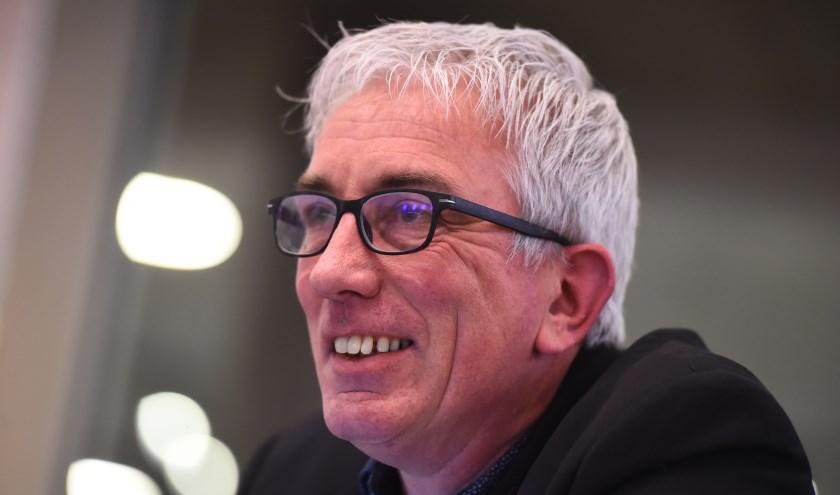 """Hans Boerwinkel: """"Met het nu vastgestelde beleid blijven arbeidsmigranten overgeleverd aan uitzendbureaus, waarvan ze zowel voor hun werk als voor hun woonruimte afhankelijk zijn."""" (foto: Roel Kleinpenning)"""