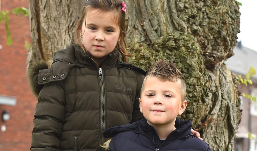 Kaylee en Giovanni.