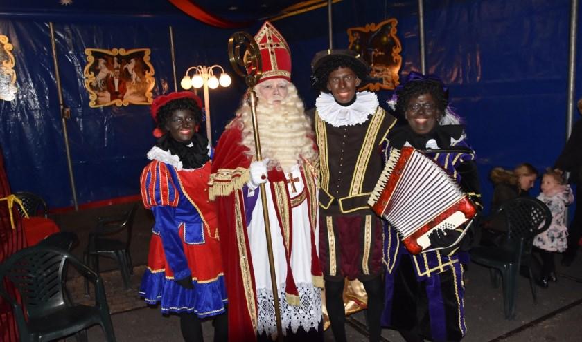 Sinterklaas in de Piste strijkt dit jaar naast het kasteel neer.