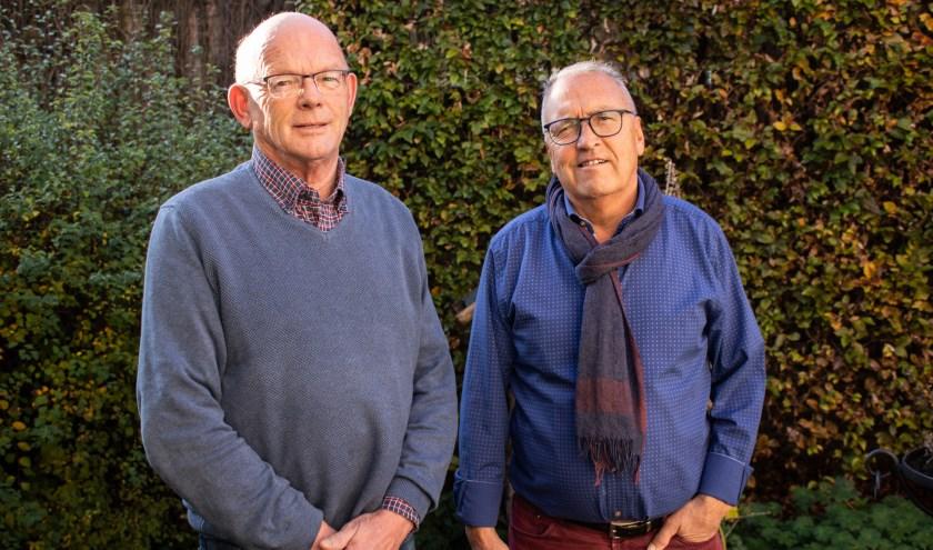 Wil van den Hout (l) en Henk Schirris. Foto: Igor Kant