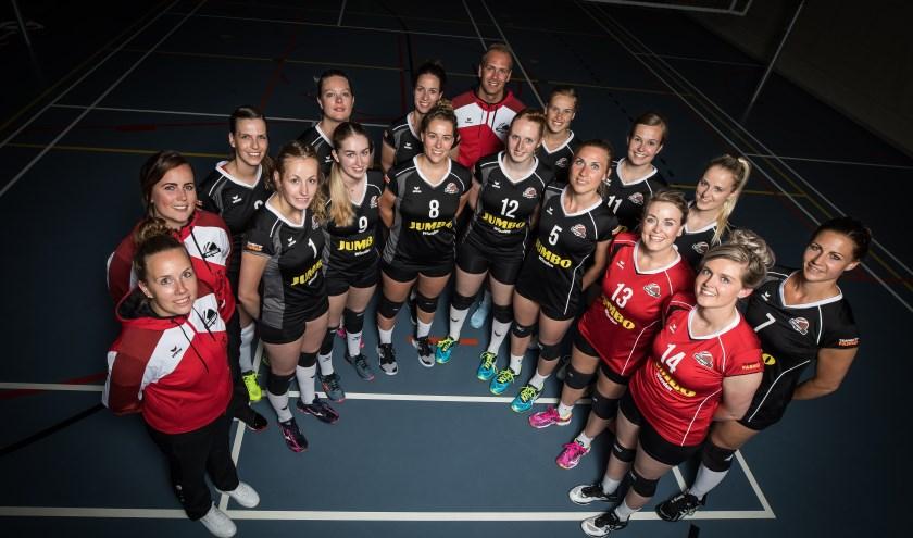 WVC Volley dames 1 speelt zaterdag tegen eredivisionist Eurosped. (Eigen foto)