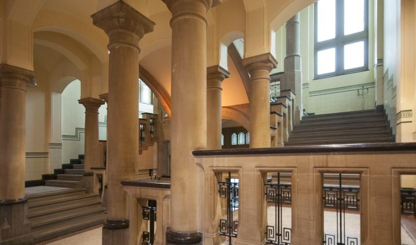 De entree van het Muntgebouw Utrecht dat straks voor veel mensen toegankelijk wordt.