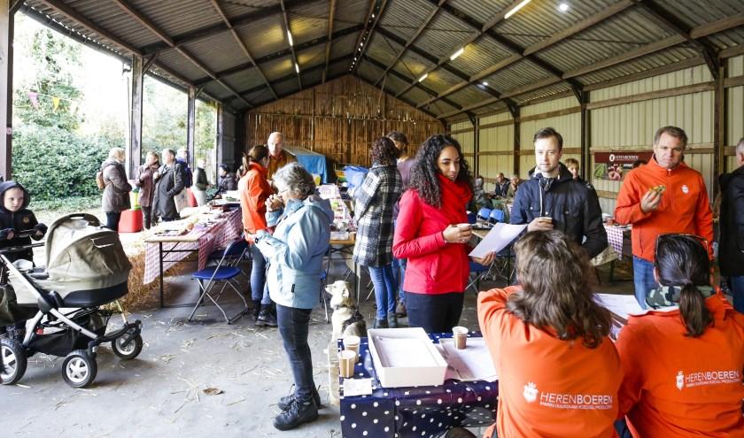 Herenboeren De Groote Heide hield zaterdag haar eerste ledendag. Foto: Jurgen van Hoof