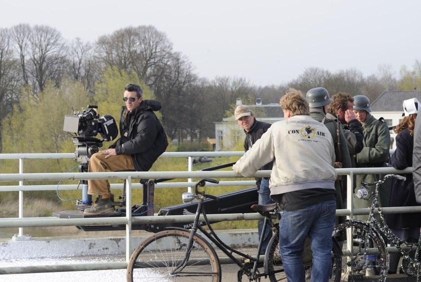 De opnames voor de film 'Oorlogswinter weren in 2008 gemaakt op de Oude IJsselbrug, tussen Hattem en Zwolle.