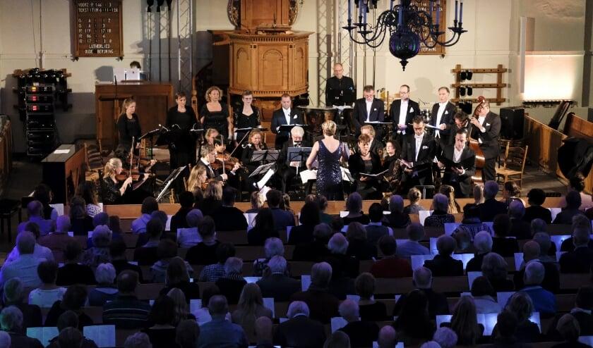 <p>Annemarie de Jong, The Pilgrims Voices en Instrumentaal ensemble Passione.</p>