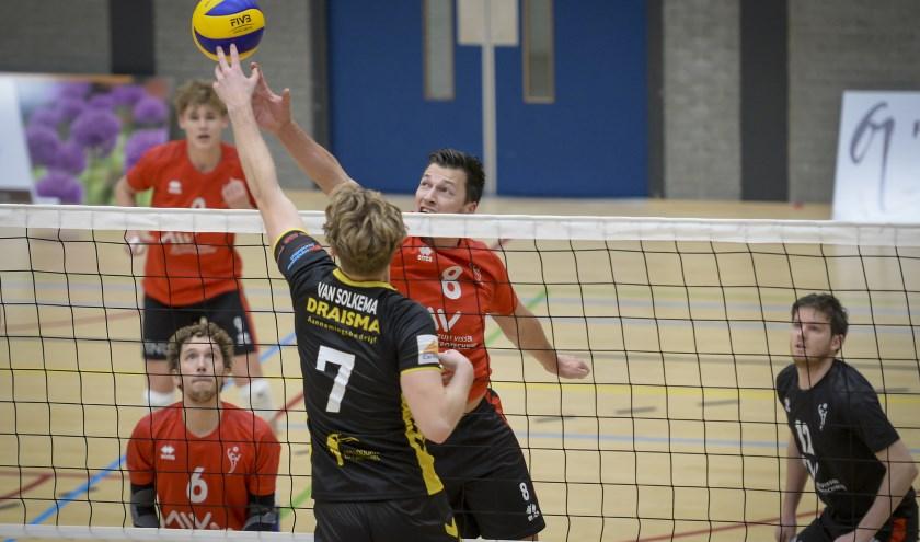 VCN ontving topclub Dynamo voor de beker. (Foto: Wijntjesfotografie.nl)