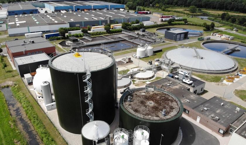 De rioolwaterzuivering in Tiel wordt op 14 november officieel omgedoopt tot energiefabriek.