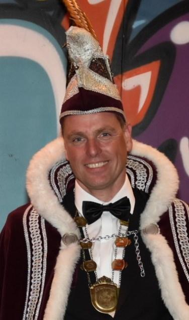 De nieuwe Prins: Hans Vosters als Prins Fundamento