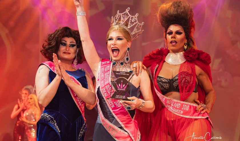 Ynel Regalo is Miss Travestie Holland 2019 - Holland's Best Dragqueen 2019  Foto: Annette Collomb /AC-Fotografie