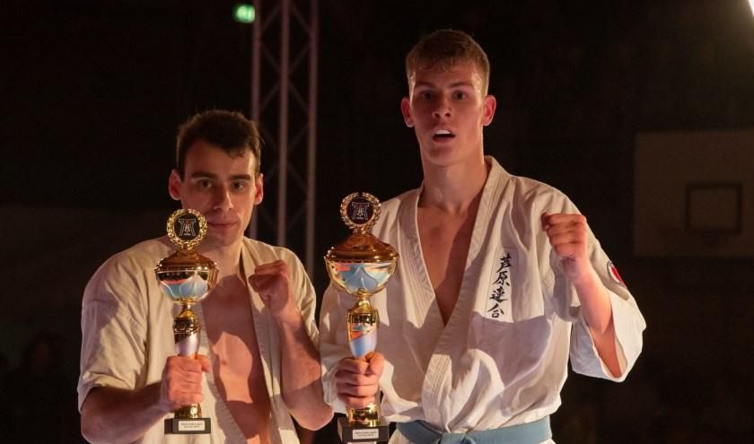 Tim (rechts) Winaar